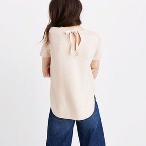 Madewell Structured Sweater Tee